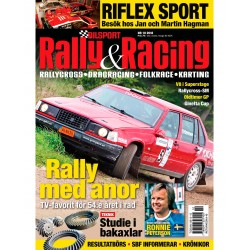 6 nr (1 dubbelnr) Bilsport Rally&Racing
