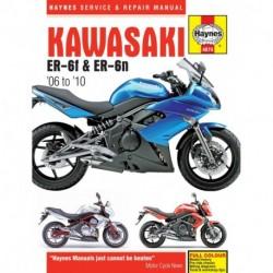 Kawasaki ER-6f & ER-6n 2006 - 2010