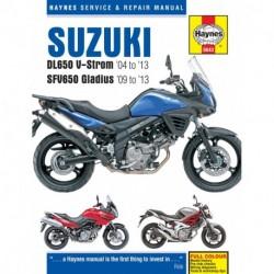 Suzuki DL650 V-Strom & SFV650 Gladius 2004 - 2013