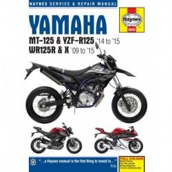 Yamaha MT-125 YZF-R125 & WR125R/X