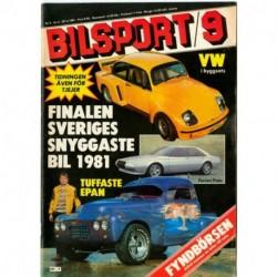 Bilsport nr 9  1981