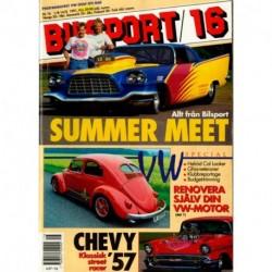 Bilsport nr 16  1991
