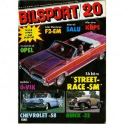 Bilsport nr 20  1981