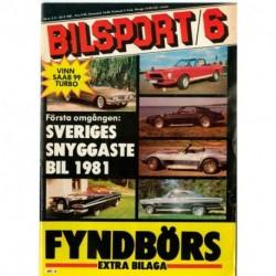 Bilsport nr 6  1981