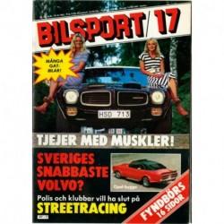 Bilsport nr 17  1981