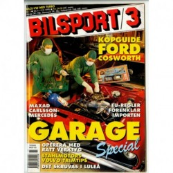 Bilsport nr 3  1995