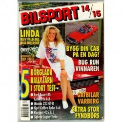 Bilsport nr 14  1993