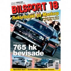 Bilsport nr 18  2004