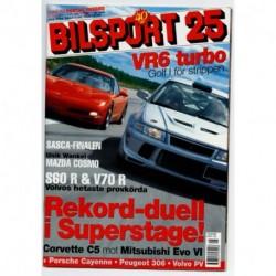 Bilsport nr 25  2002