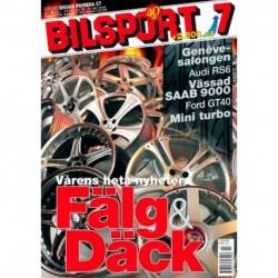Bilsport nr 7  2002