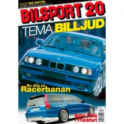 Bilsport nr 20  2001