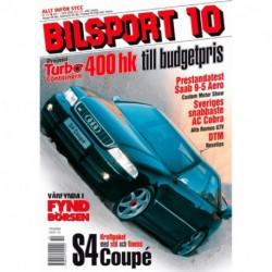 Bilsport nr 10  2001