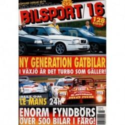 Bilsport nr 16  1997