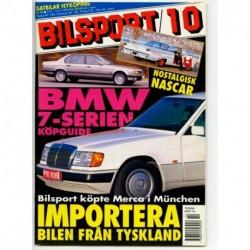 Bilsport nr 10  1996