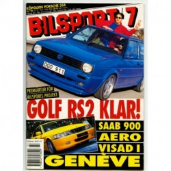 Bilsport nr 7  1996