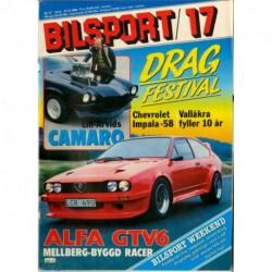 Bilsport nr 17  1986