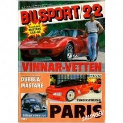 Bilsport nr 22  1986