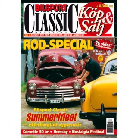 Bilsport Classic nr 8  2003