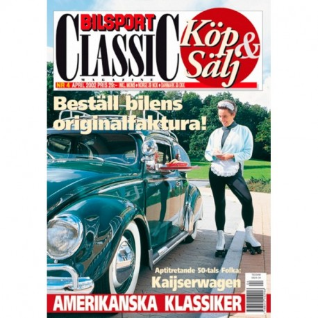 Bilsport Classic nr 4  2002