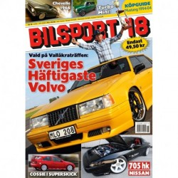 Bilsport nr 18 2009